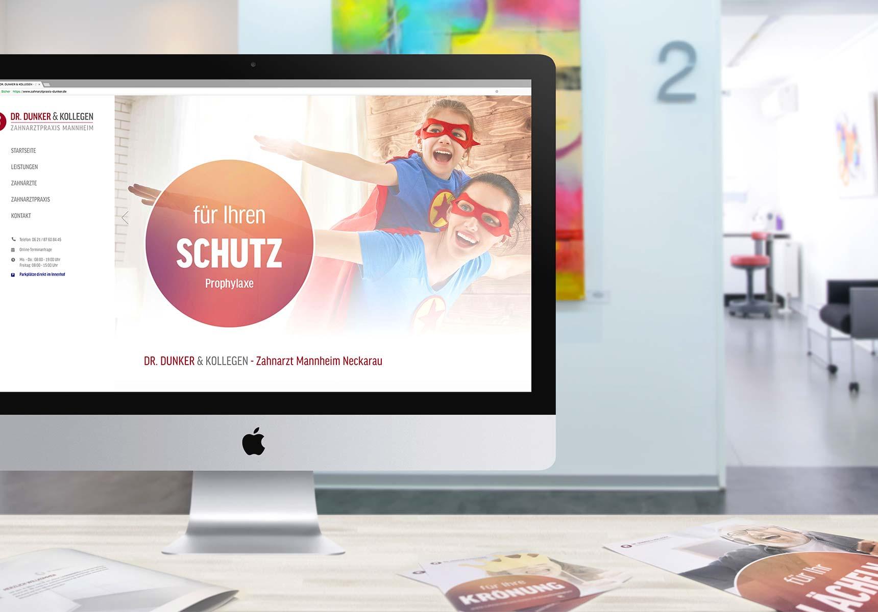 lr praxismarketing dunker und kollegen zahnarzt webdesign - Langenstein & Reichenthaler - Agentur für Praxismarketing