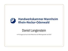 lr praxismarketing heidelberg zertifikat handwerkskammer mannheim rhein neckar odenwald - Langenstein & Reichenthaler - Agentur für Praxismarketing