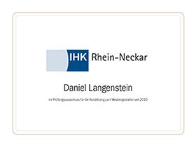 lr praxismarketing heidelberg zertifikat ihk rhein neckar - Langenstein & Reichenthaler - Agentur für Praxismarketing