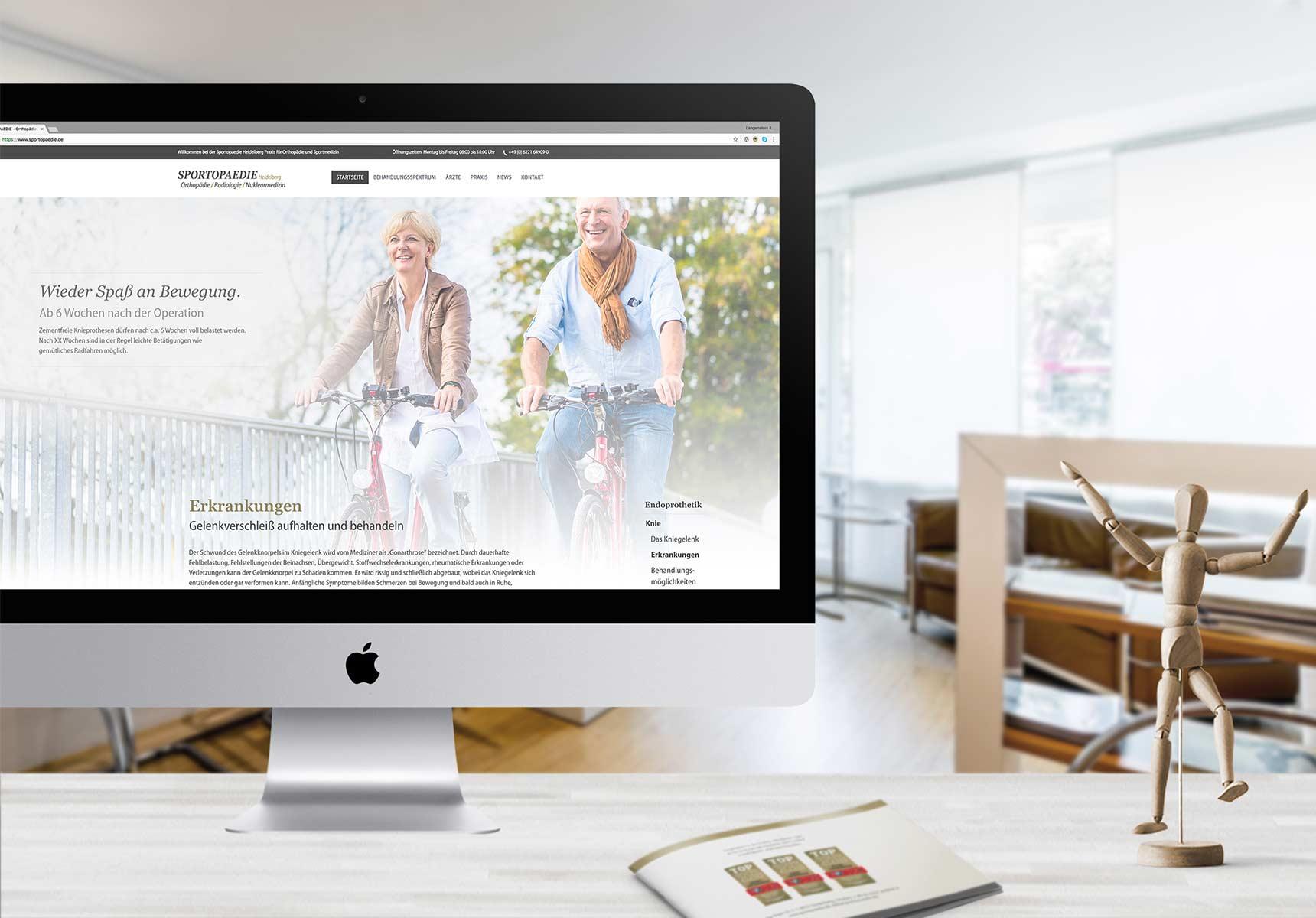 lr praxismarketing sportopaedie praxis webseite webdesign arzt 1 - Langenstein & Reichenthaler - Agentur für Praxismarketing