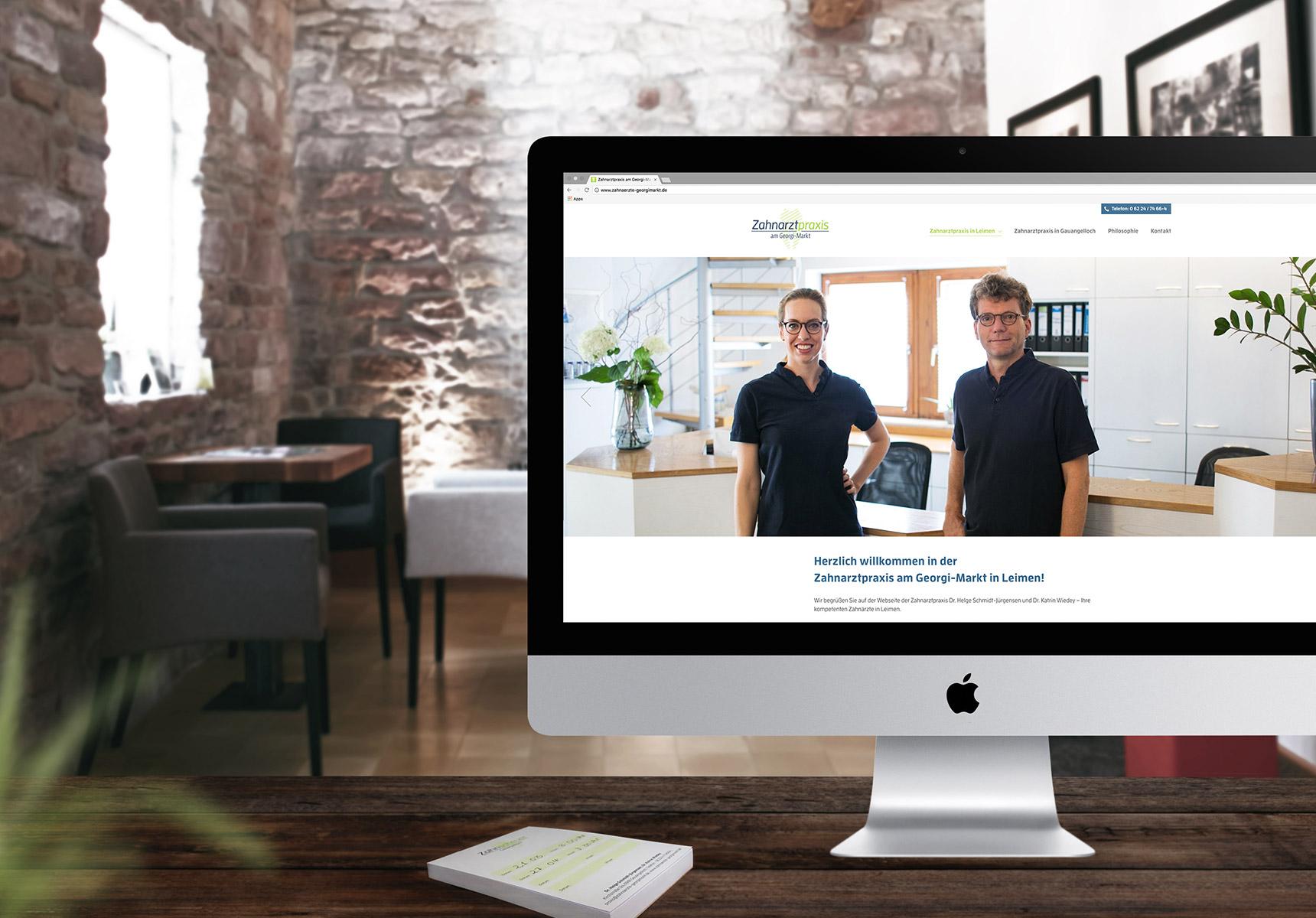lr praxismarketing zahnarztpraxis am georgimarkt webdesign zahnarzt - Langenstein & Reichenthaler - Agentur für Praxismarketing